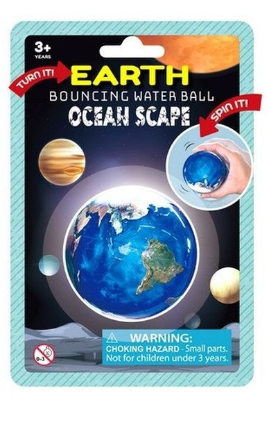 Earth - Bouncing Water Ball