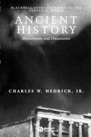 Ancient History by Charles W Hedrick