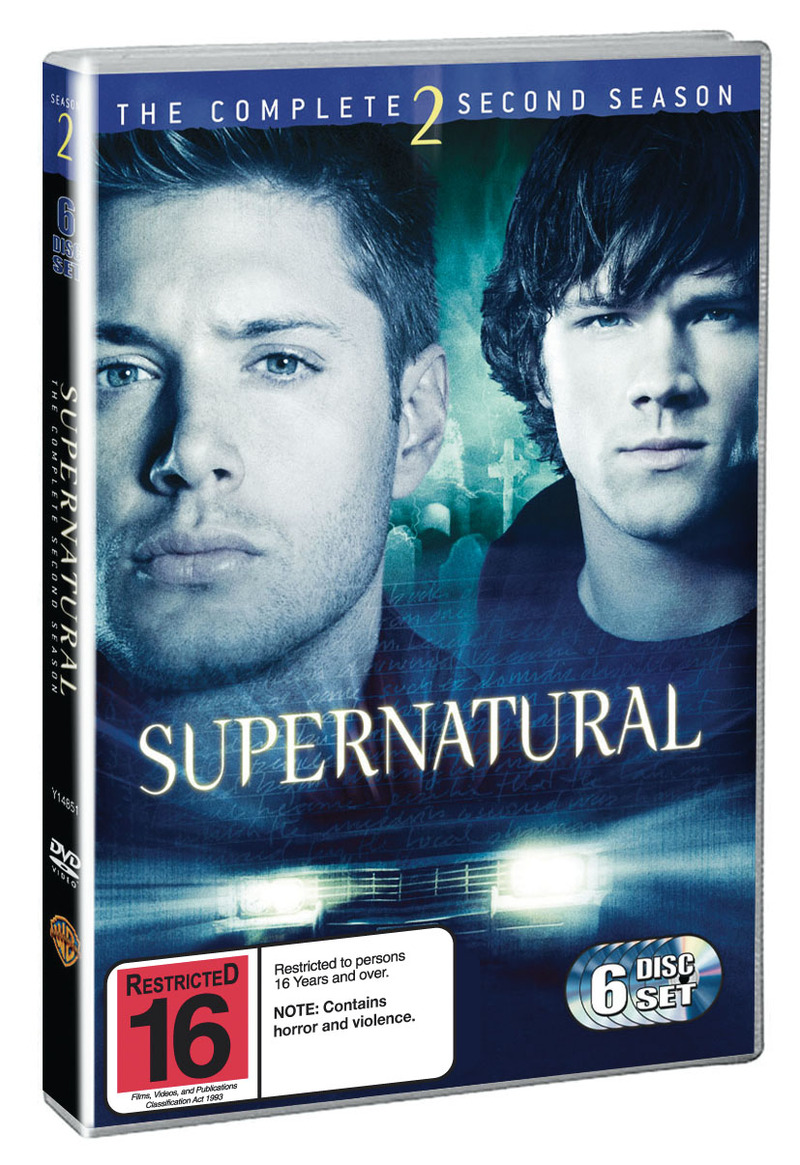 Supernatural - The Complete 2nd Season (6 Disc Set) on DVD image