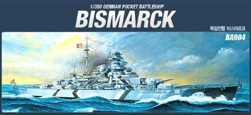 Academy Bismarck 1/350 Model Kit