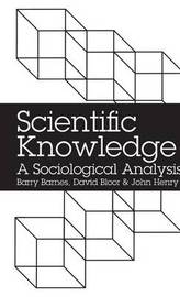 Scientific Knowledge by Barry Barnes image