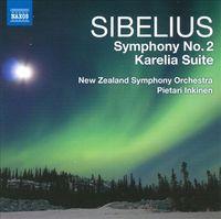 Symphony No. 2 / Karelia Suite by Jean Sibelius