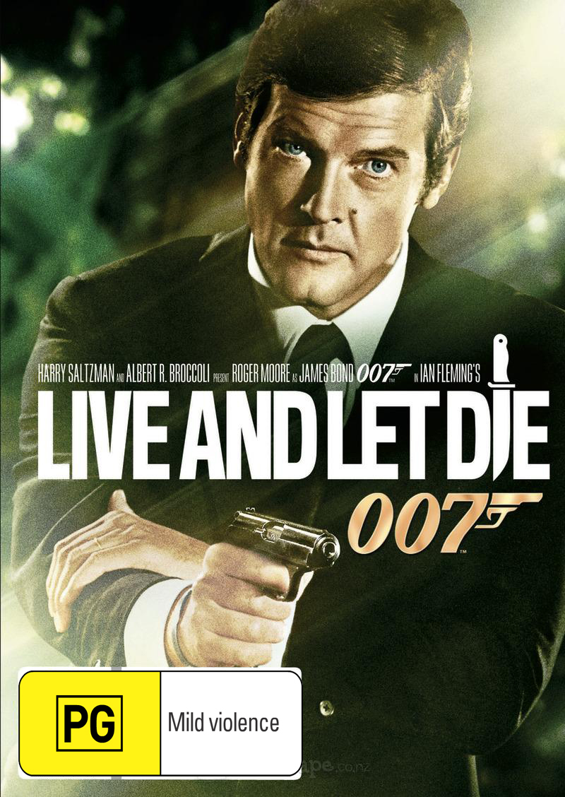 Live and Let Die (2012 Version) on DVD image