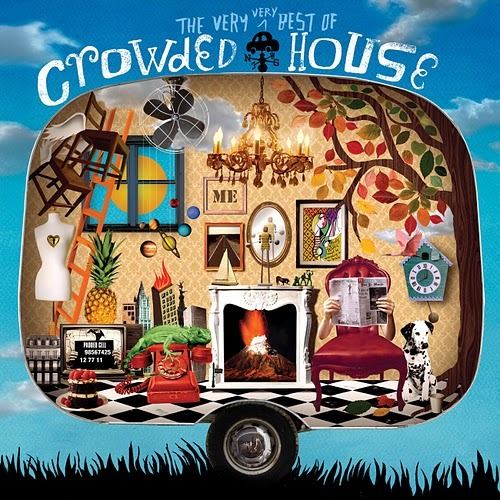The Very Very Best Of Crowded House (2CD) by Crowded House image