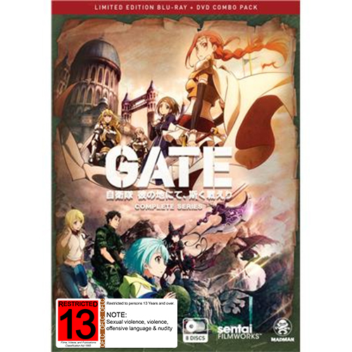 Gate Complete Series - Limited Edition (DVD/Blu-ray) on DVD, Blu-ray