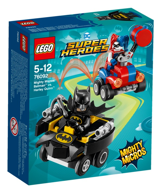 LEGO Super Heroes: Mighty Micros - Batman vs. Harley Quinn (76092)