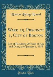 Ward 15, Precinct 1, City of Boston by Boston Listing Board image
