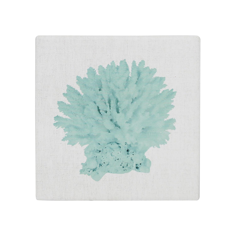 Splosh: Coastal Coral Ceramic Coaster image