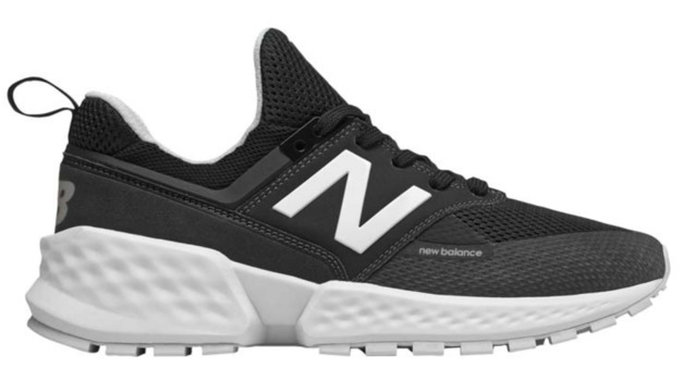 New Balance: Mens 574 Running Shoes - Black (Size US 8)