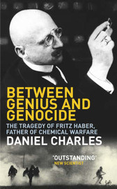 Between Genius And Genocide by Daniel Charles image