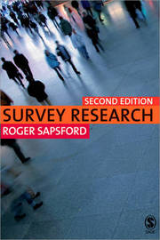 Survey Research by R.J. Sapsford image