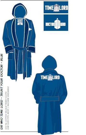 Doctor Who Bathrobe  a5e0c4cf4