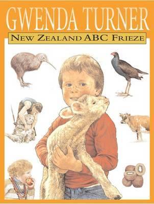 New Zealand ABC Frieze by Gwenda Turner