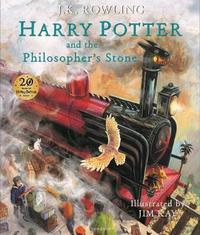 Harry Potter and the Philosopher's Stone: Illustrated Edition by J.K. Rowling image
