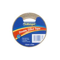 Sellotape: Double Sided Tape (12mmx33m)