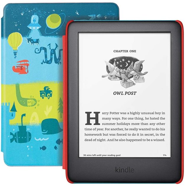 """Kindle (10th Gen) Kids Edition 6"""" Display (8GB) - Space"""