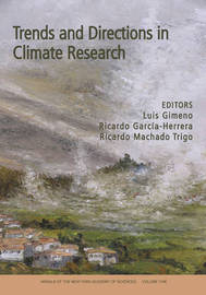 Trends and Directions in Climate Research, Volume 1146 by Luis Gimeno image