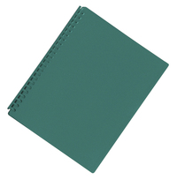 FM A4 20 Pocket Refillable Display Book - Green