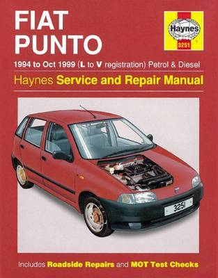 Fiat Punto Petrol & Diesel (94 - Oct 99) L To V by Haynes Publishing image