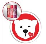 Lip Smackers 3pc Coke Bear Emoji Tin