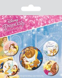 Beauty and the Beast Pin Badges (Classic)