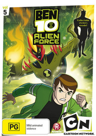 Ben 10: Alien Force - Vol. 5 on DVD