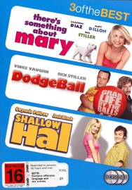 There's Something About Mary / DodgeBall / Shallow Hal - 3 Of The Best (3 Disc Set) on DVD image