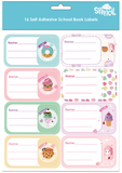 Spencil: Everyday is Sundae - Name & Subject Labels (16-Pack)