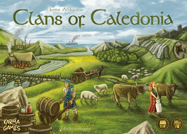 Clans of Caledonia - Board Game