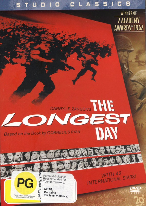 Longest Day, The (Studio Classics) on DVD image