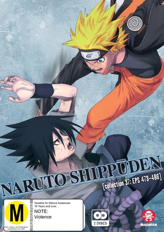 Naruto Shippuden - Collection 37 (eps 473-486) on DVD