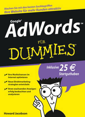 AdWords Fur Dummies by Howie Jacobson image