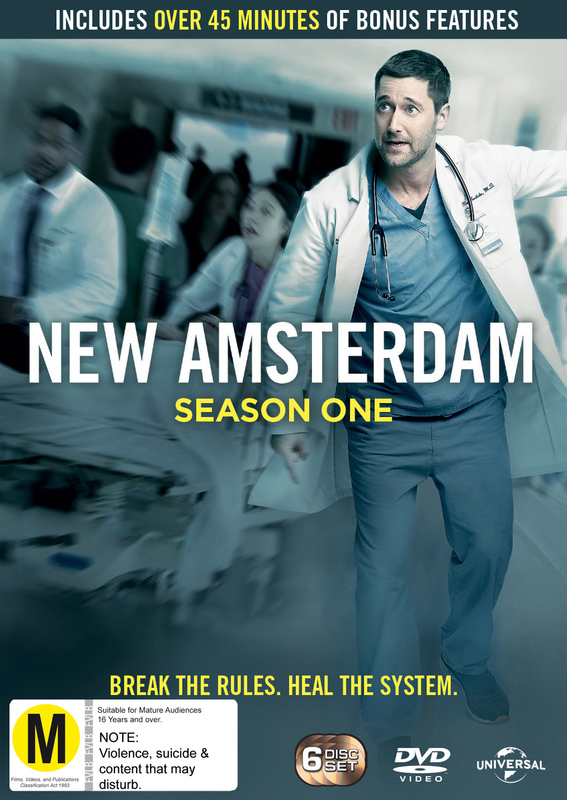 New Amsterdam - The Complete Season 1 on DVD