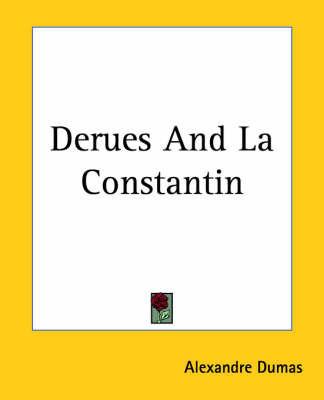 Derues And La Constantin by Alexandre Dumas