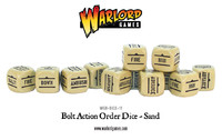 Bolt Action Orders Dice Sand (12) image