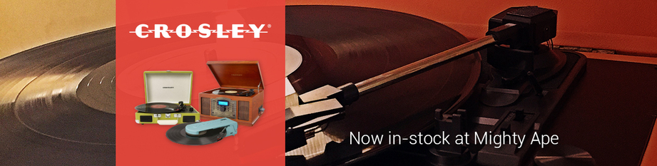 Crosley Record Players: Ex clusive to Mighty Ape in NZ!