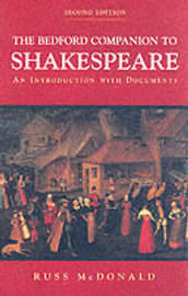 The Bedford Companion to Shakespeare by Russ McDonald image