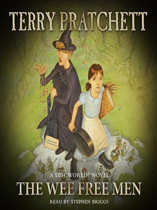 The Wee Free Men (Discworld 30 - Tiffany Aching) (UK Ed.) by Terry Pratchett image