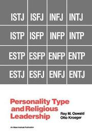 Personality Type and Religious Leadership by Roy M Oswald