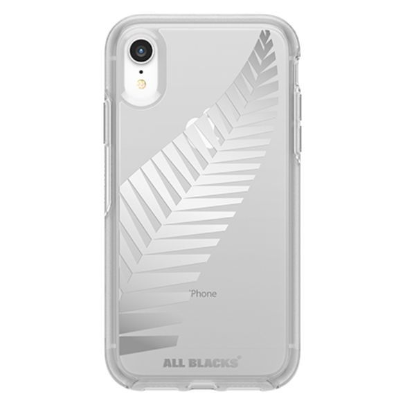 Otterbox: All Blacks Symmetry for iPhone XR - Clear