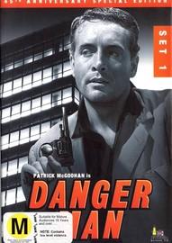 Danger Man - 1959-1960 : Set 1(6 Disc Box Set) on DVD image