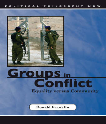 Groups in Conflict by Donald Franklin image