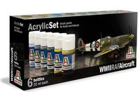 Italeri Acrylic Paint Set: WWII RAF