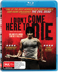 I Didn't Come Here to Die on Blu-ray
