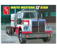 AMT White Western Star 1/25 Model Kit