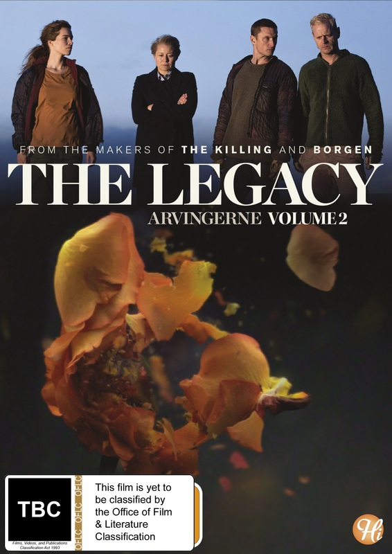 The Legacy - Series 2 on DVD