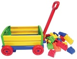 Big Blocks Wagon with 24 Blocks