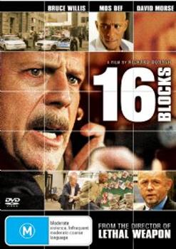 16 Blocks on DVD image