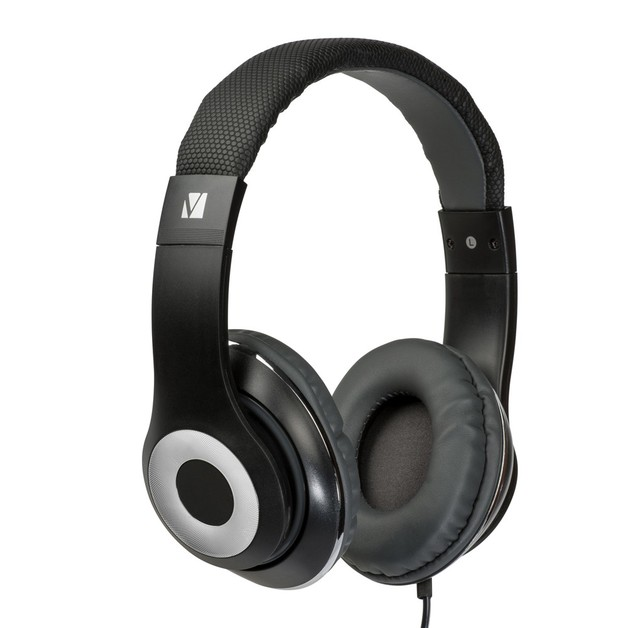 Verbatim TDK ST100 Over-Ear Classic Audio Headphones (Black)