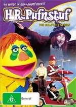 H.R. Pufnstuf - The Complete Series (3 Disc Set) on DVD